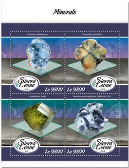 n° 7597/7600 - Timbre SIERRA LEONE Poste