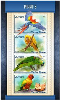 n° 7657/7660 - Timbre SIERRA LEONE Poste