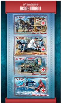 n° 7677/7680 - Timbre SIERRA LEONE Poste