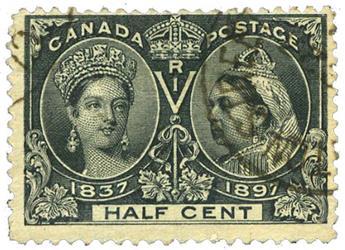 n°38 obl. B/TB - Timbre CANADA Poste