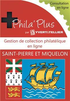 PHILA´Plus en ligne : Saint-Pierre et Miquelon (12 mois)
