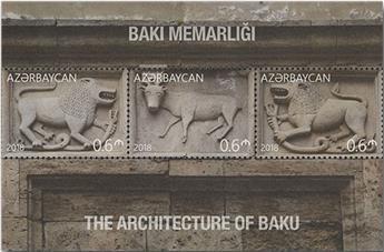 n° 180/183 - Timbre AZERBAIDJAN Blocs et feuillets