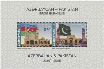 n° 185 - Timbre AZERBAIDJAN Blocs et feuillets