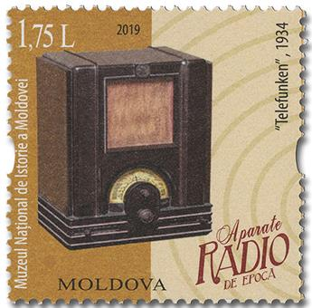 n° 947/948 - Timbre MOLDAVIE Poste