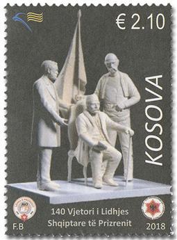 n° 303 - Timbre KOSOVO Poste
