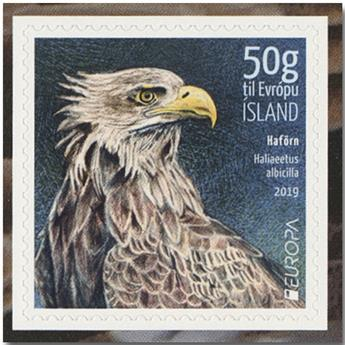 n° 1513/1514 - Timbre ISLANDE Poste (EUROPA)