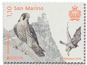 n° 2567/2568 - Timbre SAINT-MARIN Poste (EUROPA)