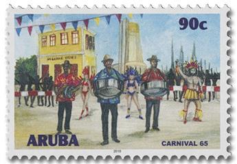 n° 1047/1050 - Timbre ARUBA Poste