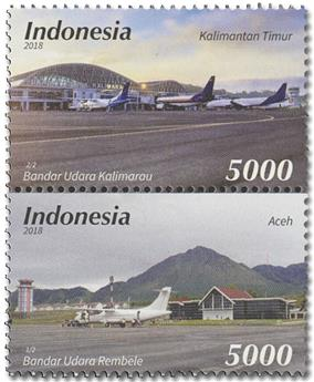 n° 2901/2902 - Timbre INDONESIE Poste