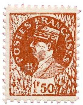 n°517h** - Timbre FRANCE Poste