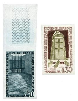 n°1380/1381** ND - Timbre FRANCE Poste