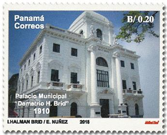 n° 1288/1290 - Timbre PANAMA Poste