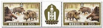 n° 3109/3110 - Timbre MONGOLIE Poste