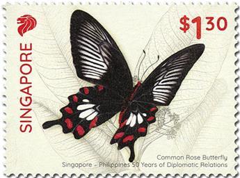 n° 2333/2334 - Timbre SINGAPOUR Poste