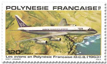 n°152 - Sello Polinesia Correo aéreo