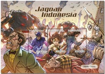 n° 346 - Timbre INDONESIE Blocs et feuillets