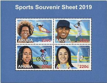 n° 15 - Timbre ARUBA Blocs et feuillets