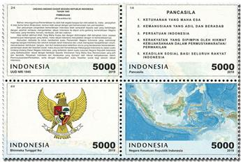 n° 2952/2955 - Timbre INDONESIE Poste