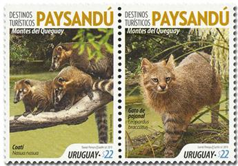 n° 2940/2941 - Timbre URUGUAY Poste