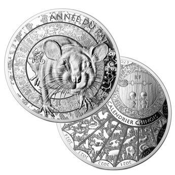 10 EUROS PRATA - ANO DA MACACO 2016