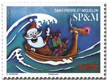 n° 1231 - Timbre Saint-Pierre et Miquelon Poste
