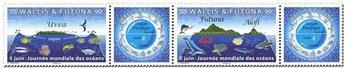 n° 907/908 - Timbre WALLIS & FUTUNA Poste
