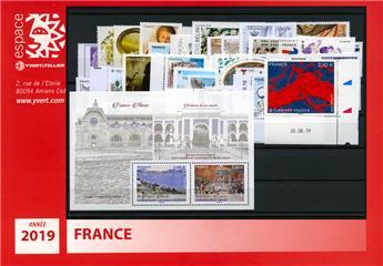 n° 5291/F5368  - Timbre France Année complète  (2019)