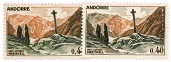 n°159A** - Timbre ANDORRE Poste