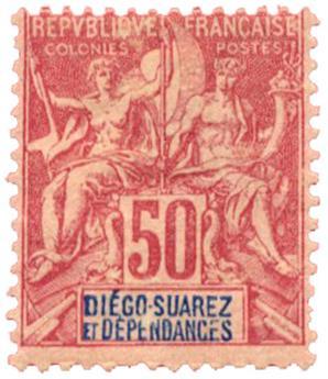 n°35* - Timbre DIEGO-SUAREZ Poste