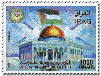n° 1890 - Timbre IRAK Poste
