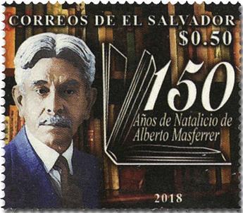 n° 1914 - Timbre SALVADOR Poste