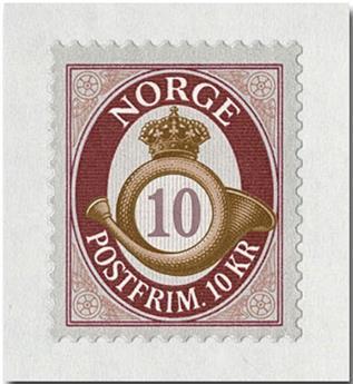n° 1933 - Timbre NORVEGE Poste