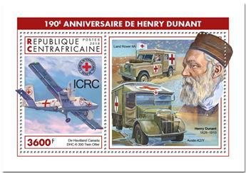 n° 1383 - Timbre CENTRAFRICAINE Blocs et feuillets