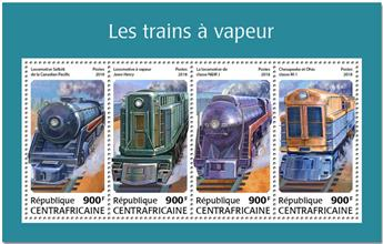 n° 5515/5518 - Timbre CENTRAFRICAINE Poste
