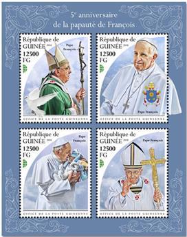 n° 9569/9572 - Timbre GUINÉE Poste