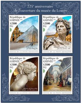 n° 9649/9652 - Timbre GUINÉE Poste