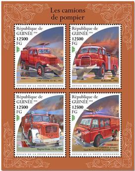 n° 9669/9672 - Timbre GUINÉE Poste