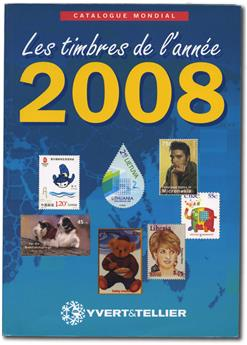 Stamps from the year 2008