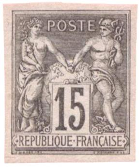 n°77a(*) - Timbre FRANCE Poste
