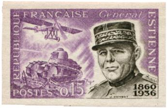 n°1270a** ND - Timbre FRANCE Poste
