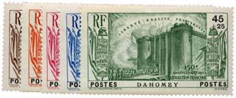 n°115/119* - Timbre DAHOMEY Poste