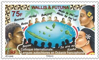 n° 925 - Timbre WALLIS & FUTUNA Poste