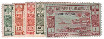 n°11/15* - Timbre NOUVELLES HEBRIDES Taxe