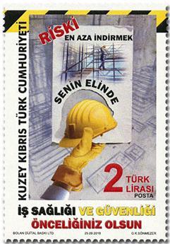 n° 805 - Timbre CHYPRE TURC Poste