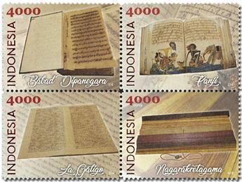 n° 2984/2987 - Timbre INDONESIE Poste
