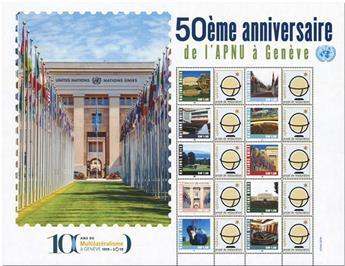 n° 1061/1070 - Timbre ONU GENEVE Poste