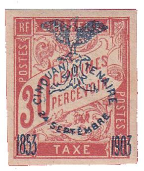 n°11** - Timbre NOUVELLE CALEDONIE Taxe