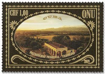 n° 1071/1072 - Timbre ONU GENEVE Poste