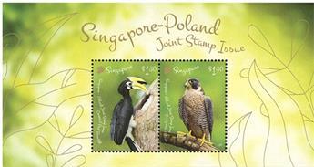 n°211 - Timbre SINGAPOUR Blocs et feuillets