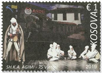 n°336/337 - Timbre KOSOVO Poste